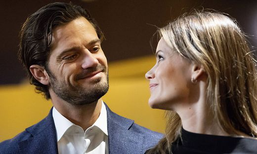 STOCKHOLM 2019-10-22 Prince Carl Philip and Princess Sofia during a presentation of the couples foundation s report abo