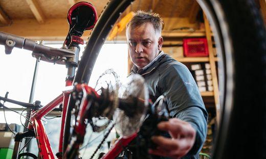 Fahrräder sind im Sporthandel heiß begehrt