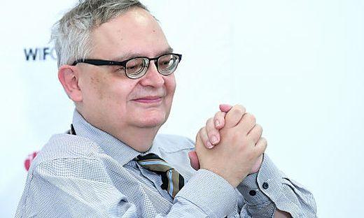 IHS-Prognosechef Helmut Hofer