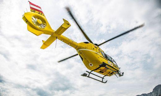 Eine Frau aus Völkermarkt wurde bei einer Skitour in Flattach im Mölltal verletzt. Sie wurde vom Hubschrauber C 7 geborgen (Symbolfoto)