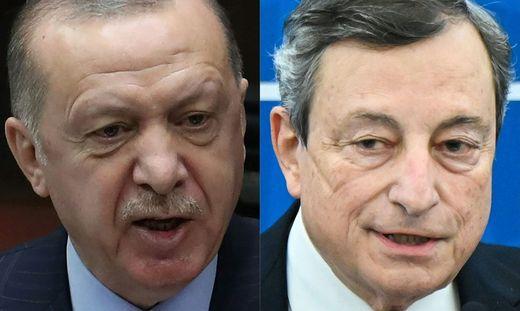 Erdogan attackiert Draghi
