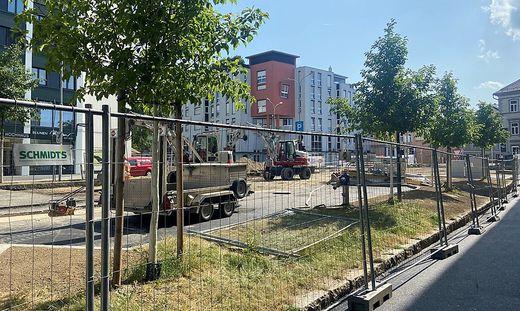 Die Bauarbeiten am Villacher Ring sind im vollen Gange