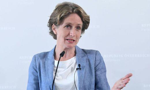 Eine der Wortführerinnen im Parlament in Sachen BVT: Stefanie Krisper (Neos)