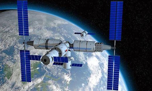 So soll die Raumstation einmal aussehen