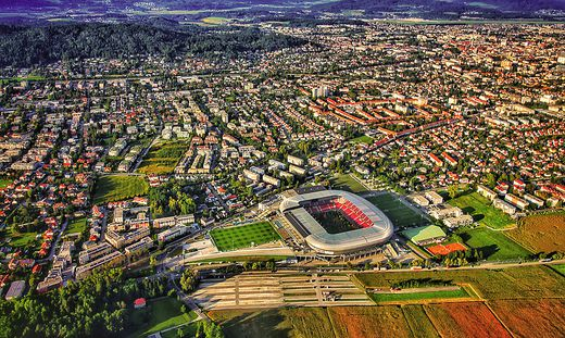 Klagenfurt (Bild) und Villach sollen näher aneinanderrücken, wünscht sich die Industrie