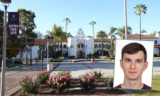 Vitus Graule wird sein Praktikumssemester an der San Diego State University absolvieren