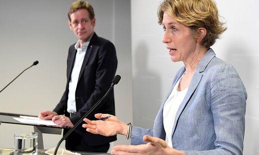 SPÖ-Krainer und Neos-Krisper sehen FPÖ und ÖVP im Bericht schwer belastet