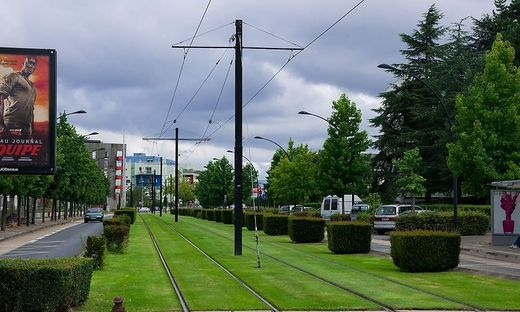 Rasengleis in Nantes