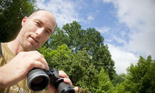 Ornithologe Emanuel Lederer