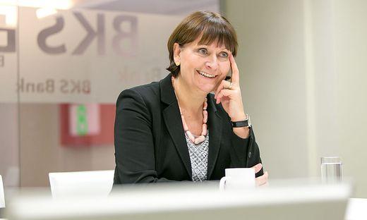 Herta Stockbauer, eine von drei Frauen an der Spitze börsennotierter Unternehmen