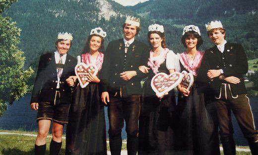 """1983 gesellten sich auch männliche """"Royals"""" zu den Hoheiten"""