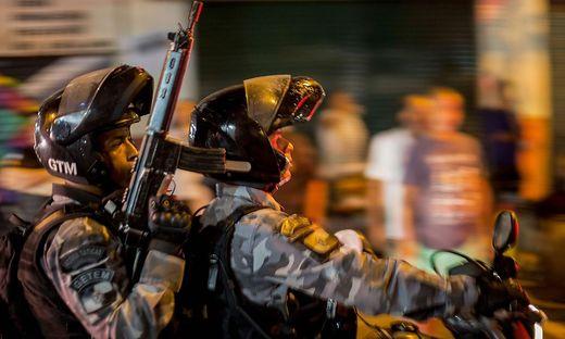 Großeinsatz für die brasilianische Polizei