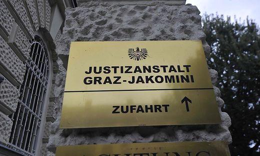 eingang justizanstalt-jakomini graz