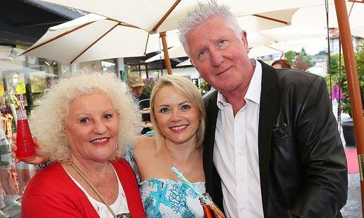 Marika Lichter zu Gast bei Manuela und Ernst Fischer in Velden