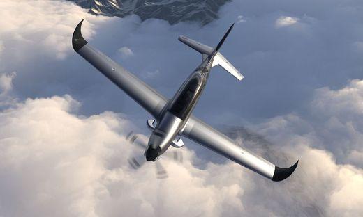 750 PS, 550 km/h: Der Karbon-Turboprop-Trainer fliegt mit steirischen 3D-Druck-Komponenten
