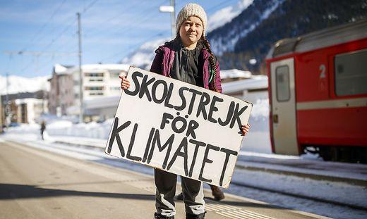 Aktivistin Greta Thunberg