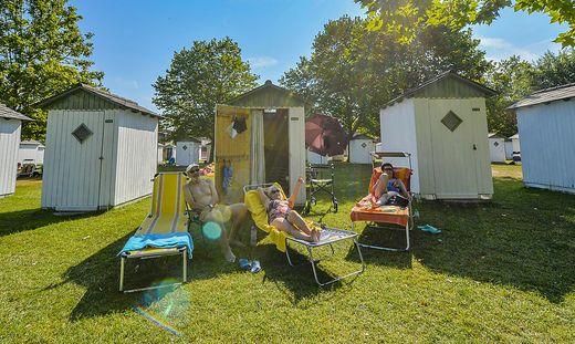 Seit den 1960er Jahren ist diese Hütte das Sommerdomizil der Familie Kollmann
