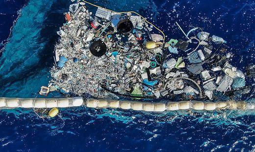 Unmengen von Plastikabfall sammeln sich im System