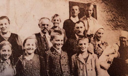 Die Großeltern, Eltern und Geschwister der Ottilie Stern