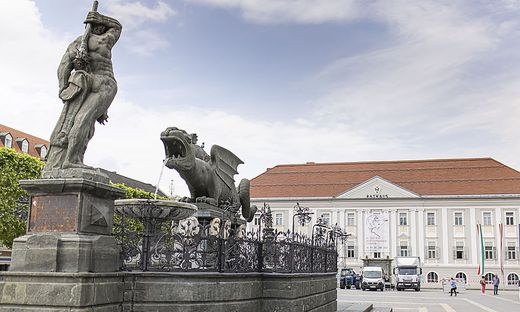 Rathaus Klagenfurt Juni 2021