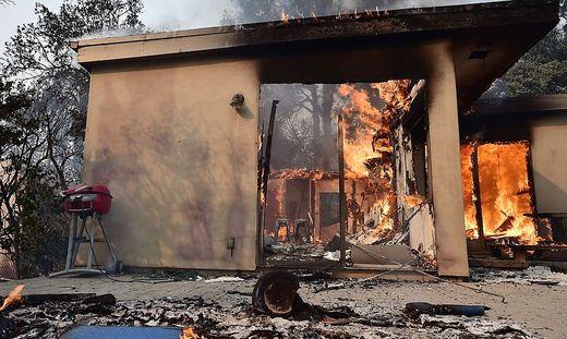 Erneut verheerende Brände in Kalifornien