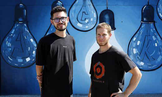 Florian Mikl und Peter Piuk stehen dem Jugendkulturverein Urban Playground vor