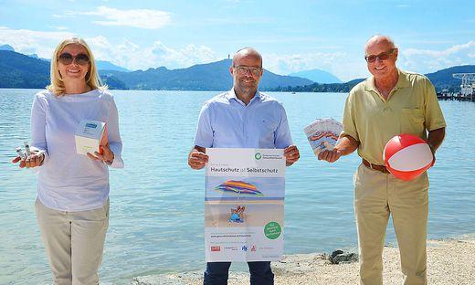 Die Hautschutzkampagne macht dieses Wochenende in Klagenfurt halt