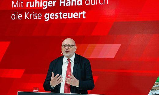 """""""Mit ruhiger Hand durch die Krise steuern,"""" das war für ÖBB-Chef Andreas Matthä das Hauptziel im ersten Pandemiejahr"""