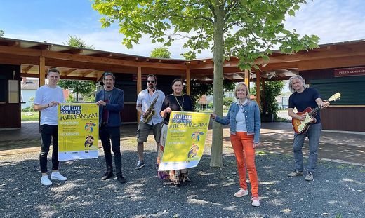 Stefan Matic, Max Pratter, Gernot Kratzer, Dagmar Brauchart, Helga Sams und Oliver Mally bringen Kultur in den Sommer