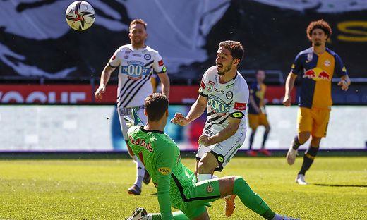 Otar Kiteishvili und sein Tor gegen Salzburg zum 1:1