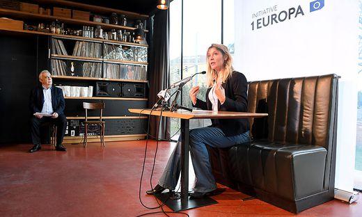 Vorsitzende der Liste Jetz, Maria Stern