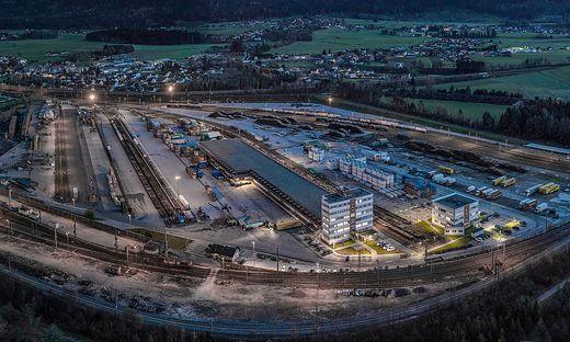 Das Terminal Villach hat erhebliche freie  Kapazitäten – mit dem Hinterlandhafen- Konzept sollen Adriahäfen entlastet und Fürnitz zur Drehscheibe für Logistik werden