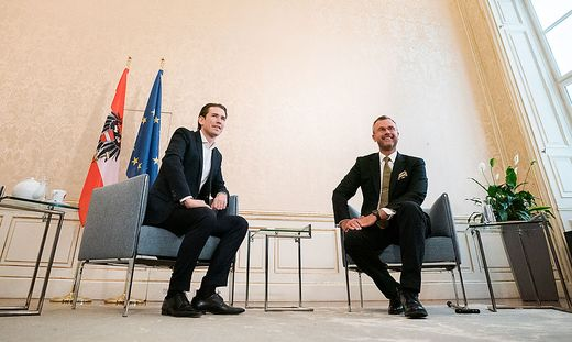 Sondierungegespräch ÖVP und FPÖ