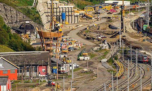 Passiert ist der Kupferdiebstahl auf der Baustelle des Bahnhofs Mürzzuschlag