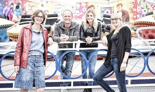 Das Wiesn-Team von links: Barbara Harz, Harald Petersmann, Simone Zedlacher und Ines Rauter