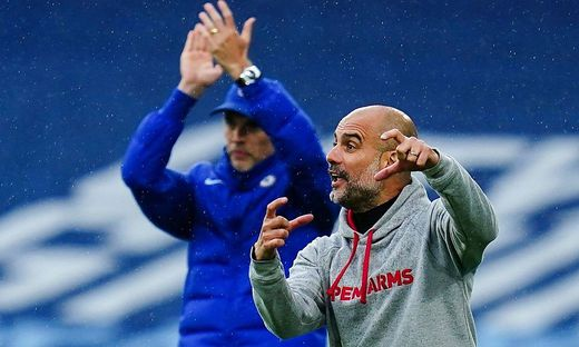 Mandatory Credit: Photo by Javier Garcia/BPI/Shutterstock (11893130dc) Manchester City Manager Pep Guardiola reacts on t
