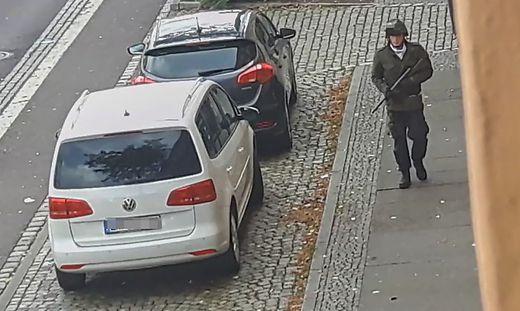 Foto des mutmaßlichen Schützen von Halle
