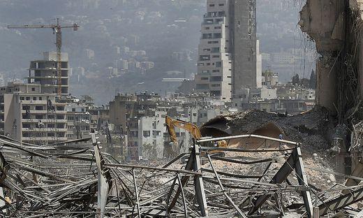 Die Explosion zerstörte große Teile von Beirut