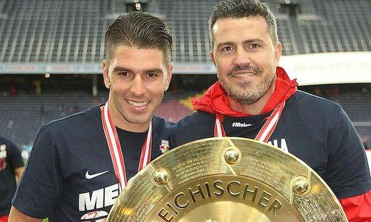 Salzburg-Trainer Oscar Garcia muss sich wohl von Jonatan Soriano verabschieden