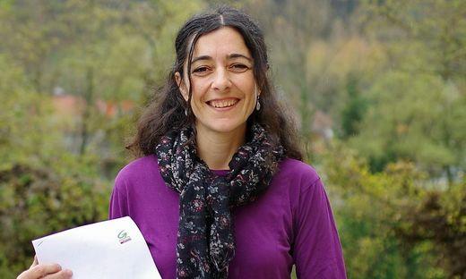 Sandra Krautwaschl stellte in Bruck ihre Ideen vor