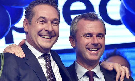 Ex-Parteichef Strache, Nachfolger Hofer