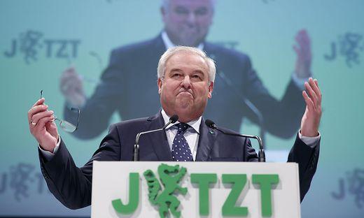 Landeshauptmann und ÖVP-Chef Hermann Schützenhöfer