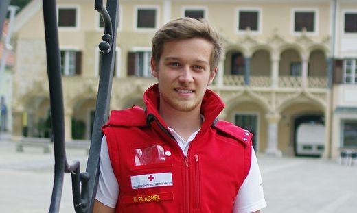 Der Brucker Max Plachel (20) rettete seinem besten Freund das Leben. Seine Erfahrung beim Roten Kreuz und seine Besonnenheit waren entscheidend
