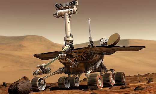 """""""Opportunity"""" rollt schon seit fast 15 Jahren über den Mars"""