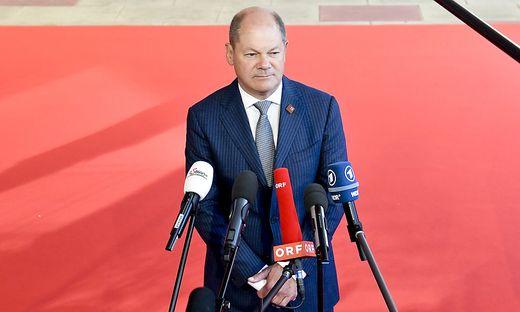 OeSTERREICHISCHER EU-RATSVORSITZ 2018 - INFORMELLE TAGUNG DER EURO-GRUPPE UND WIRTSCHAFTS- UND FINANZMINISTER: SCHOLZ