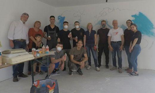 Auf Hochtouren wird im Jugendzentrum Leibnitz saniert