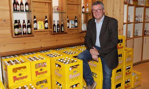 Josef Rieberer, Geschäftsführer der Brauerei Murau