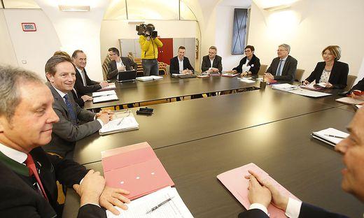 Die Sondierungsgespräche zwischen ÖVP und SPÖ