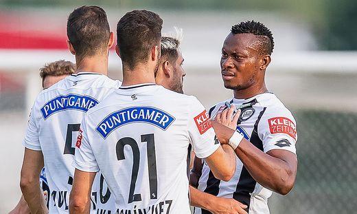 Emeka Eze (rechts) und Co. sind in der Europacup-Qualifikation gegen Haugesund gefordert