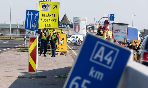 Ungarn schließt ab 1. September die Grenzen